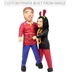 Custom  Christmas Portrait Pinata