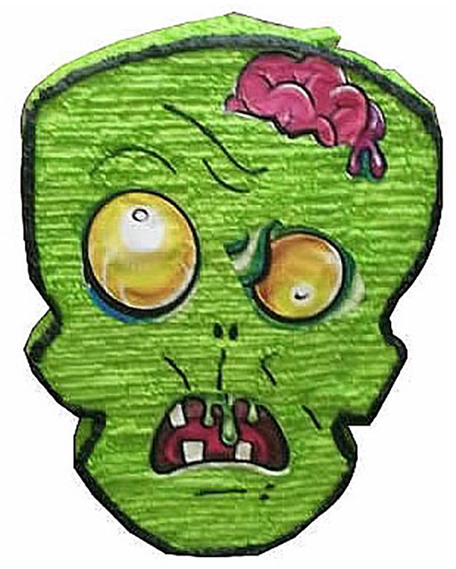 Custom Green Zombie Pinata
