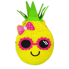 Cool Pineapple Luau Pinata