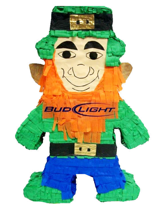 Bud Light Leprechaun Pomotional Pinata