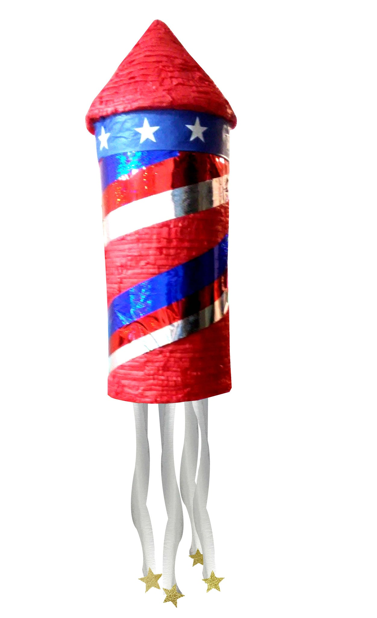 Large 4th of July Rocket Pinata - Signature Line
