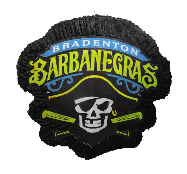 PIRATE CORPORATE LOGO PINATA