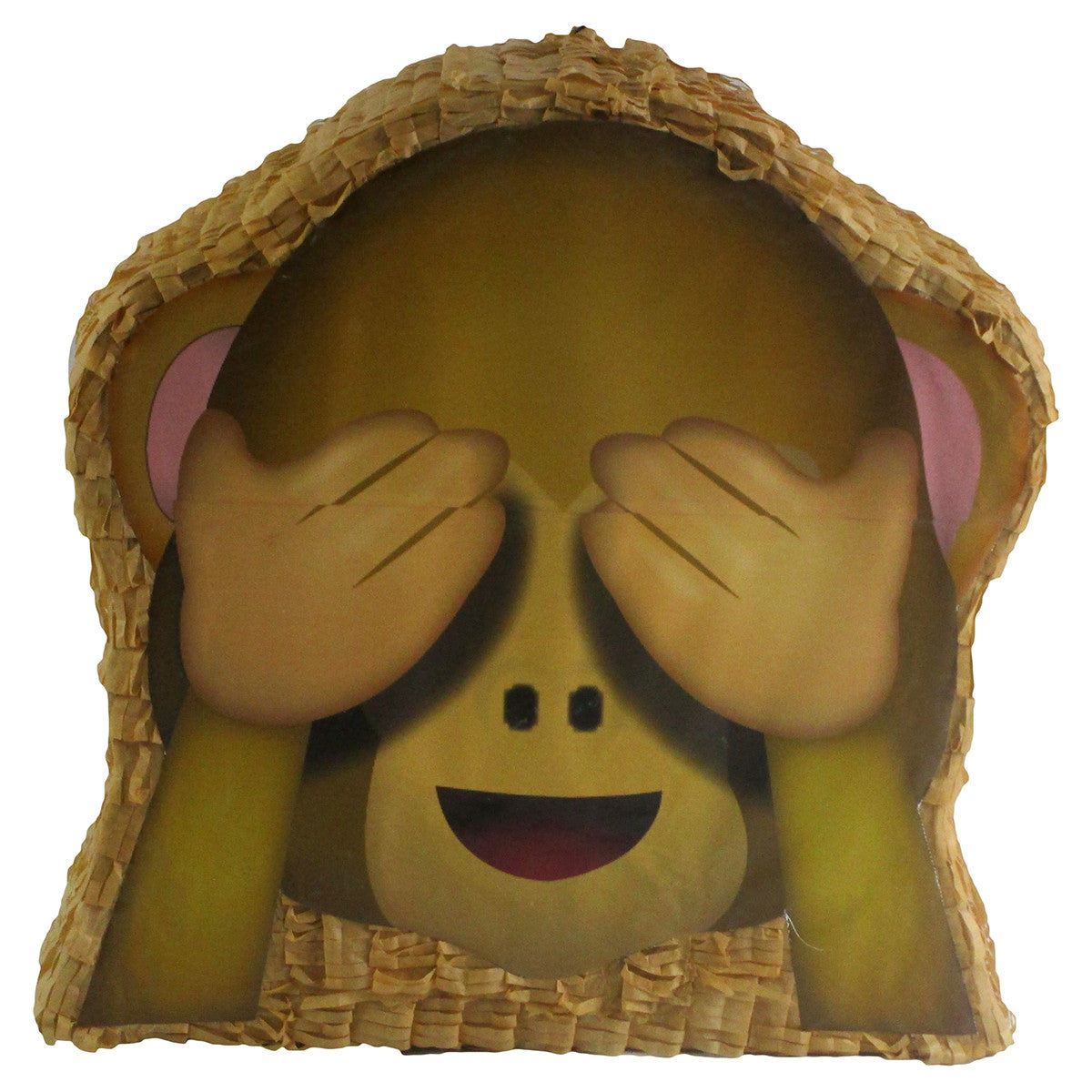 Medium See-No-Evil Monkey Emoji Icon Pinata