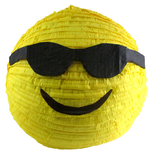 Medium Cool Emoji Icon Sunglasses Smile Pinata