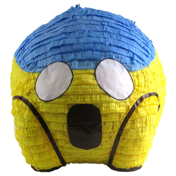 Medium Scream Emoji Icon Pinata