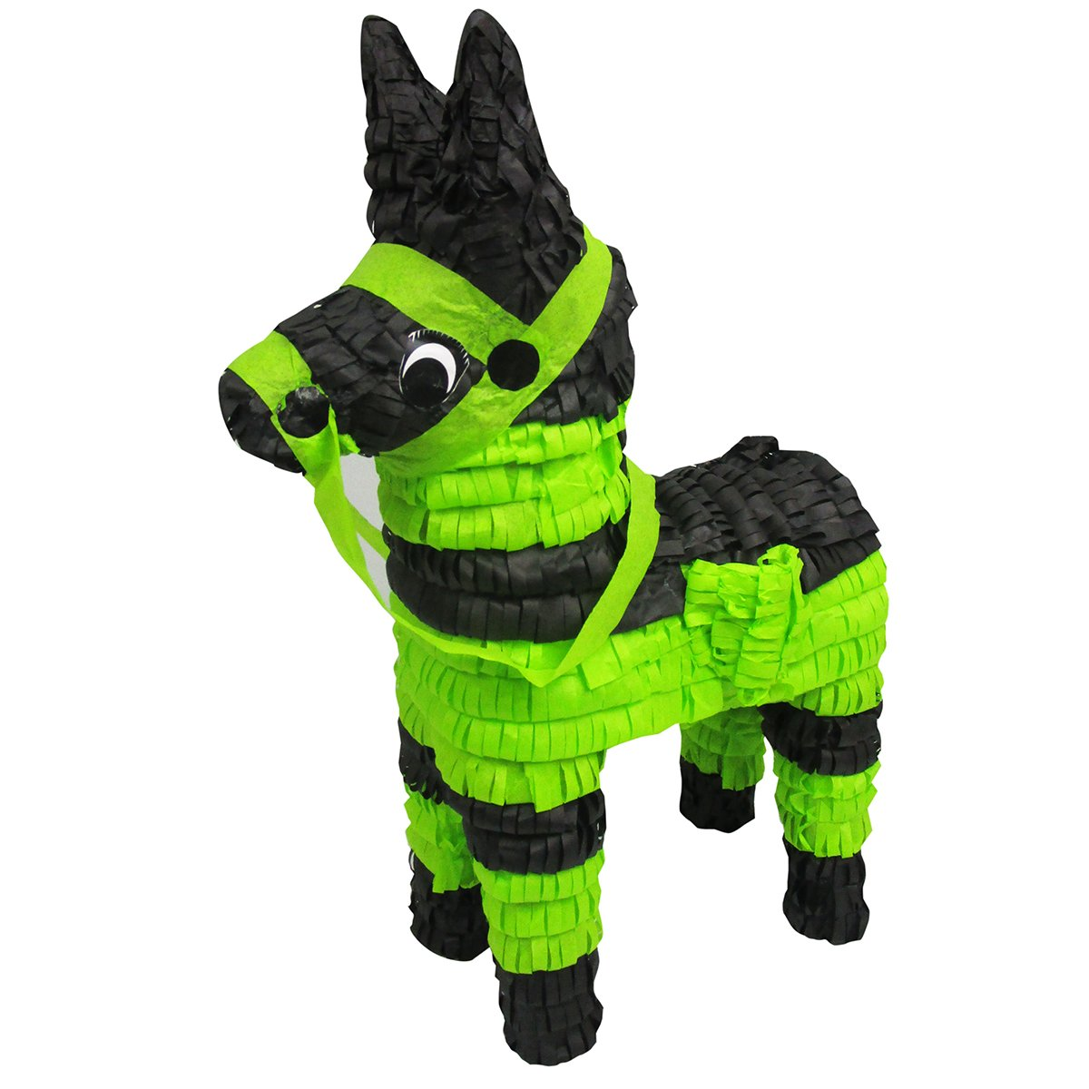 Black And Green Donkey Pinata