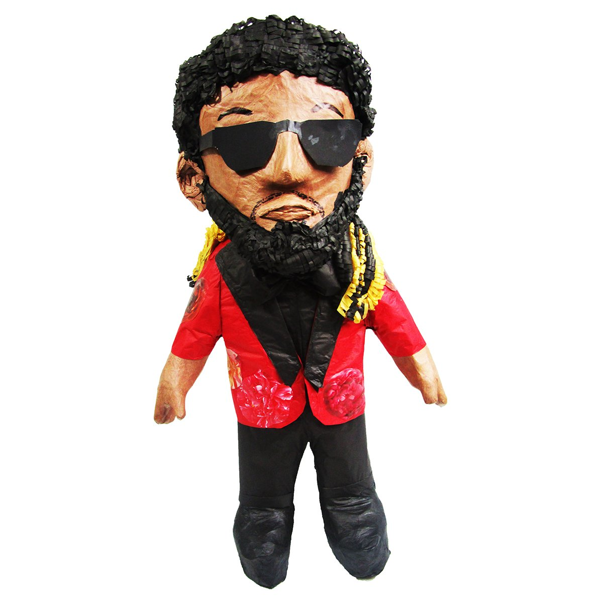 CUSTOM PERSON PINATA - RASTA