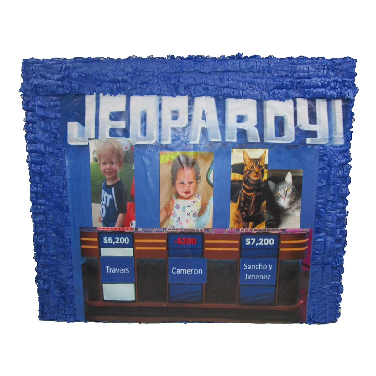 CUSTOM JEOPARDY PINATA