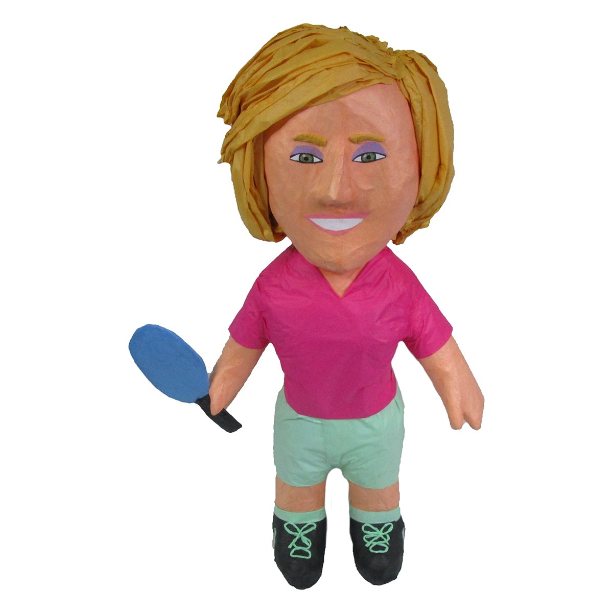 CUSTOM PING PONG PLAYER PINATA