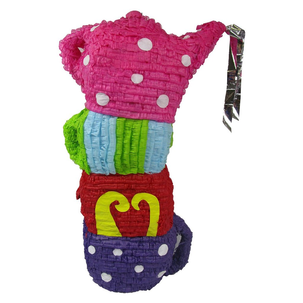 Large Crazy Tea Party Pinata - Signature Line