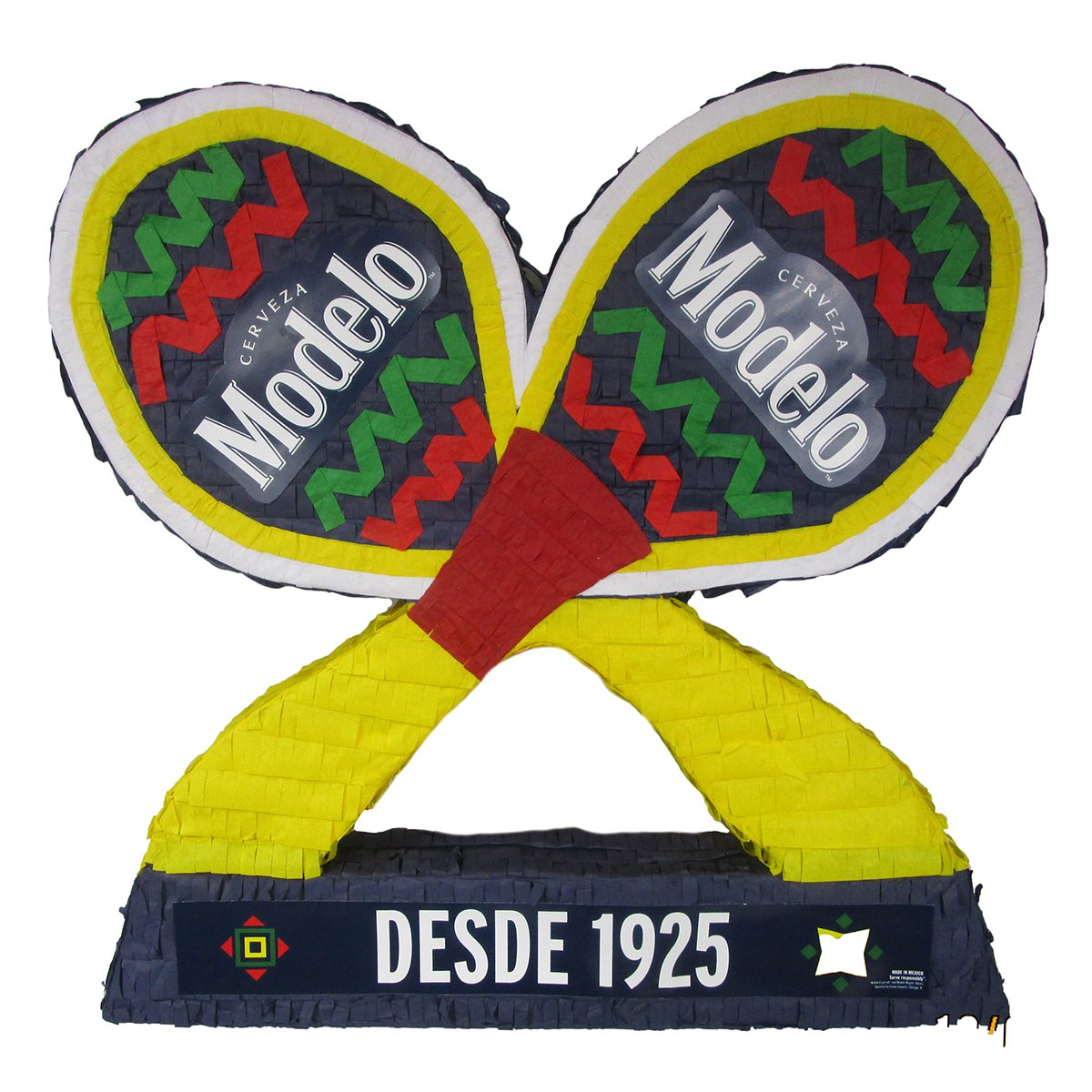 CUSTOM CORPORATE LOGO PINATA - FIESTA MARACAS