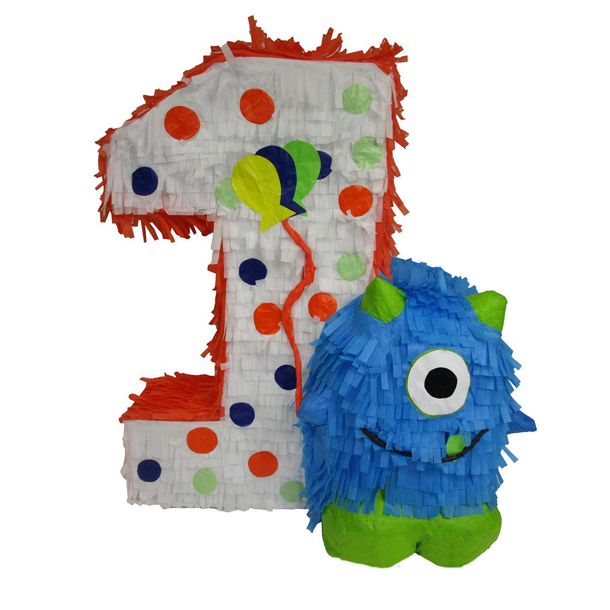 CUSTOM NUMBER PINATA