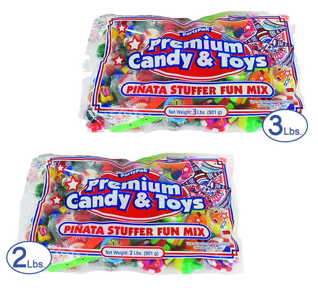 5lb Candy and Toys Pinata Filler