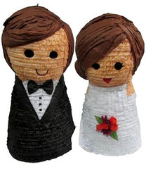 Custom Wedding Couple Cake Topper Pinata