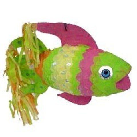 Neon Rainbow Fish Pinata