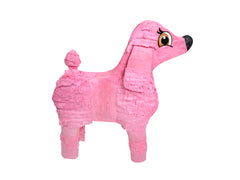 Pink Poodle Pinata Kit - Includes Pinata, 2 lb Filler, Buster Stick and Blindfold