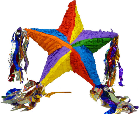 Deluxe 5-Point Multi Star Pinata