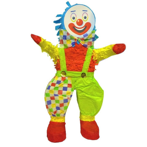 Blue Clown Pinata
