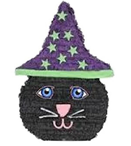Black Cat with Hat Pinata