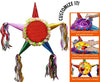 Standard Customizable Fiesta Star Pinata - Girls Bright Colors 24""
