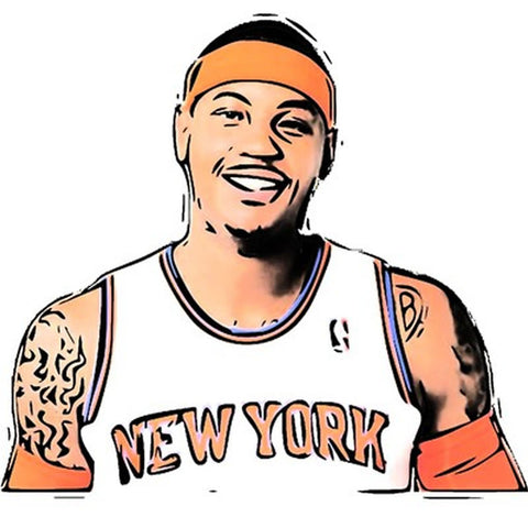 Carmelo Anthony Pinata