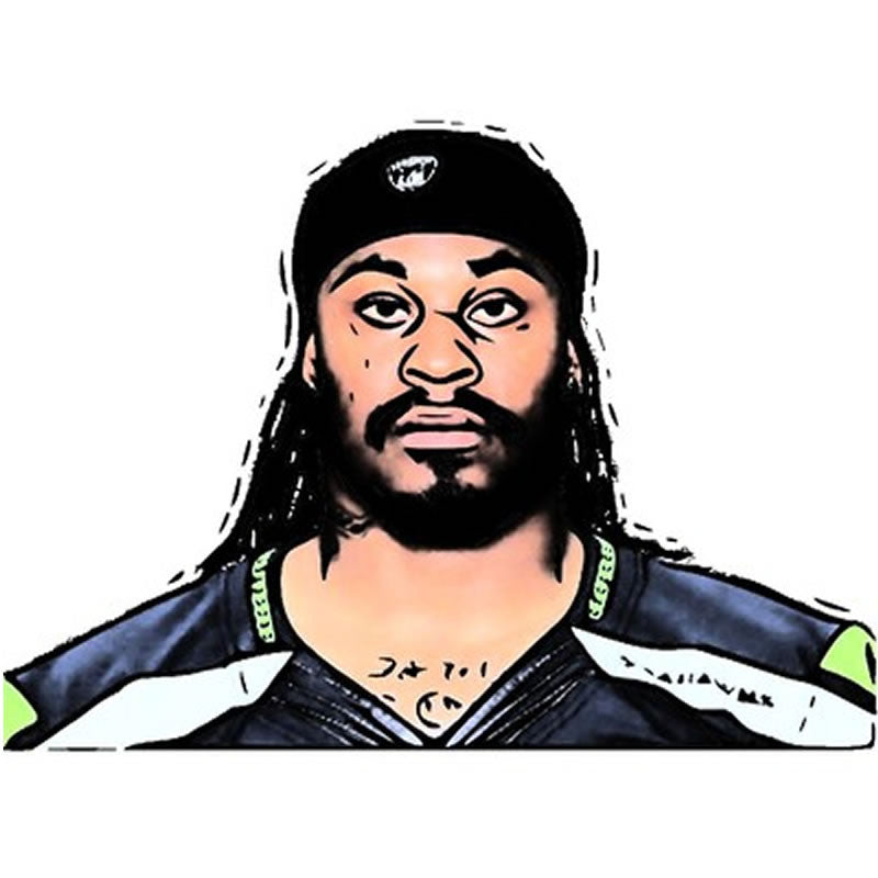 Marshawn Lynch Pinata