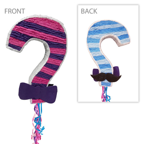 Gender Reveal Pinata - Question Mark