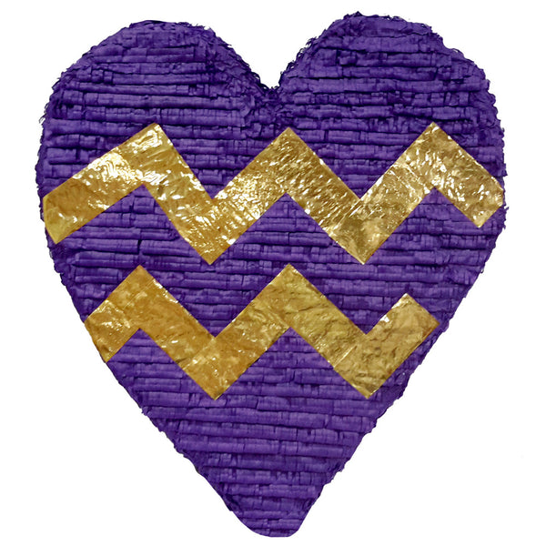 Chevron Heart Pinata