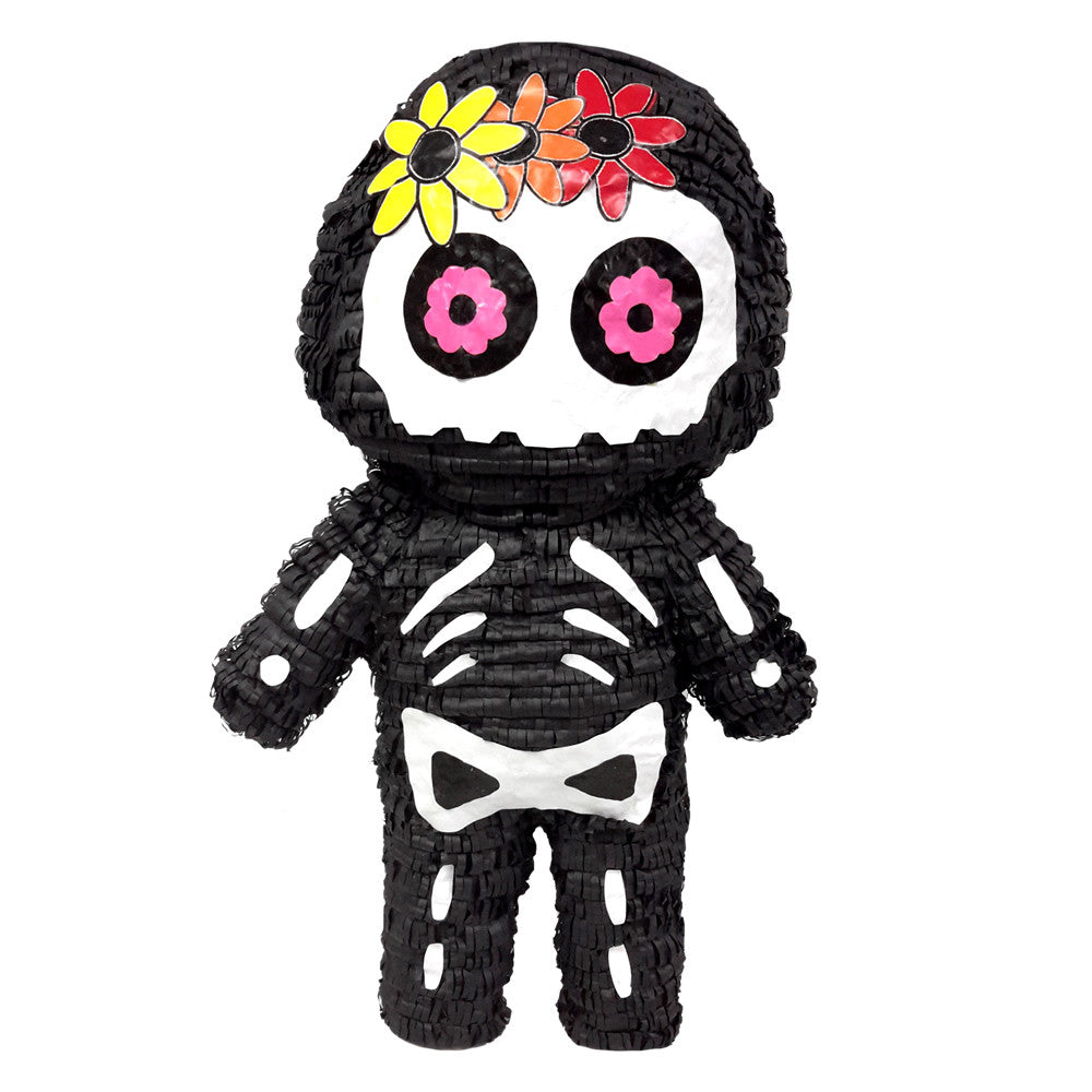 day of the dead skeleton pinata custom party pinatas. Black Bedroom Furniture Sets. Home Design Ideas