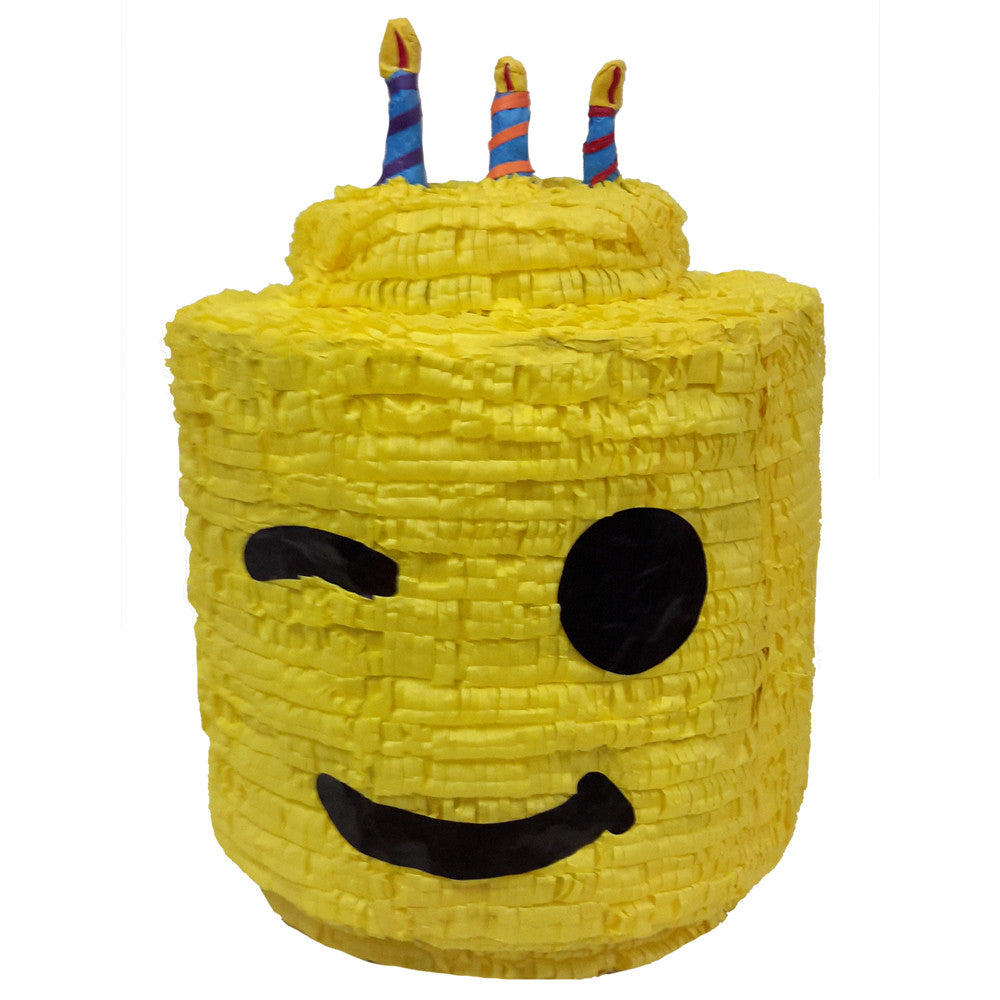 Building Block Man Pinata