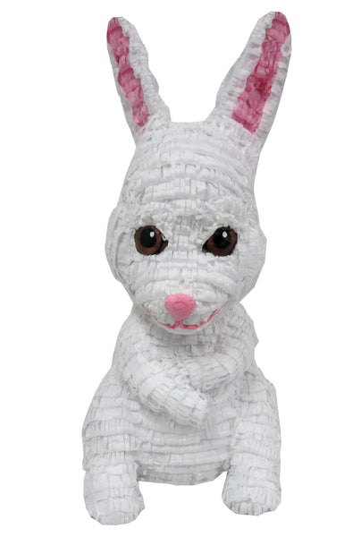Large Signature White Easter Rabbit Pinata