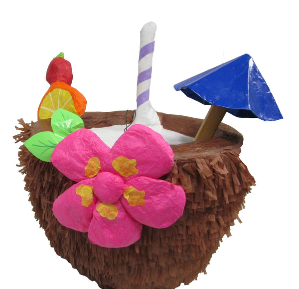 Large Signature Coconut Cocktail Pinata