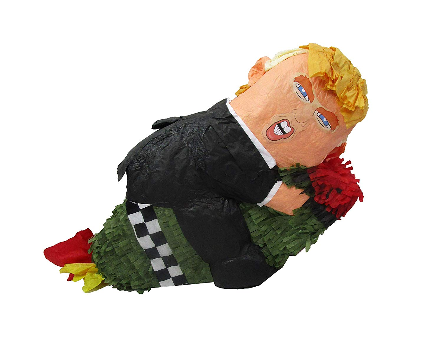 Trump on Missile Party Pinata