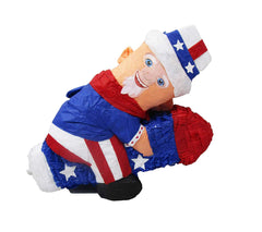 Uncle Sam on Rocket Party Pinata
