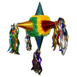 Holographic Satellite Pinata - Green Yellow