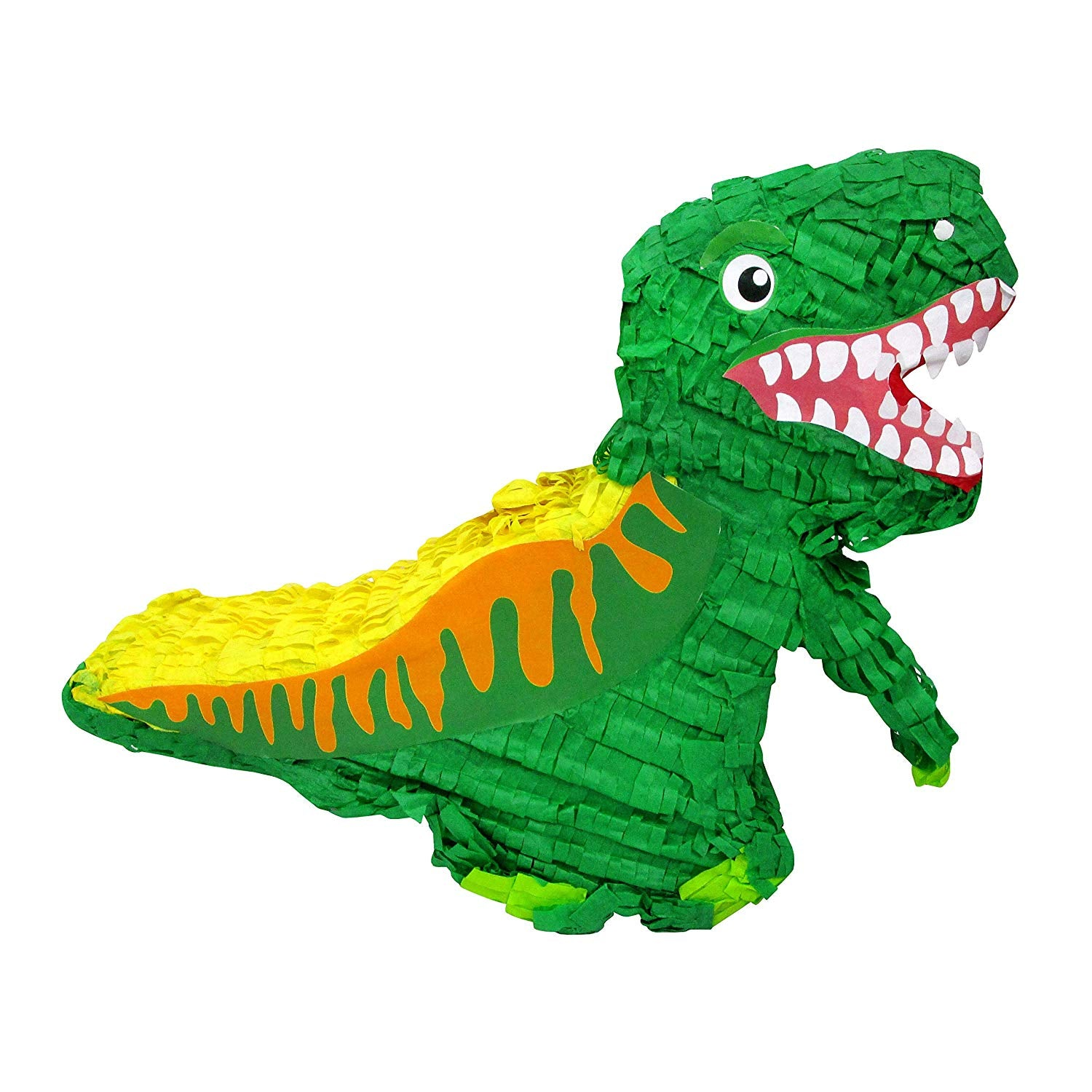 Green Dinosaur Pinata for Kids Birthday