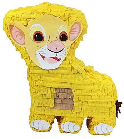 Lion Cub Pinata - Kids Birthday Party Game and Decoration