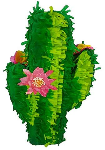 Cactus Pinata - Mexican Fiesta Party Game, Cinco de Mayo Decoration and Photo Prop