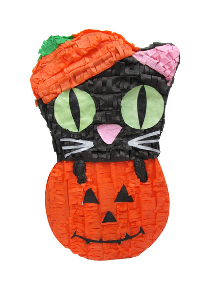 Standard Cat in Pumpkin Pinata