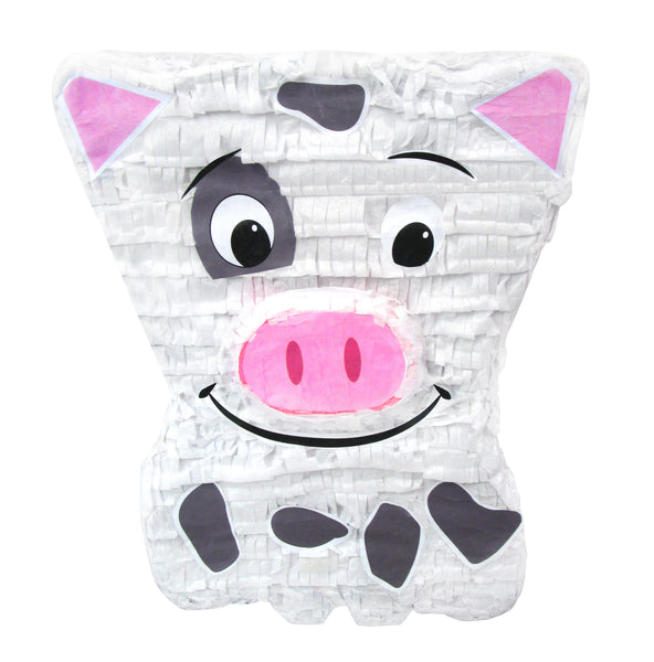 Cute Pig Pinata, Party Game and Centerpiece Decoration