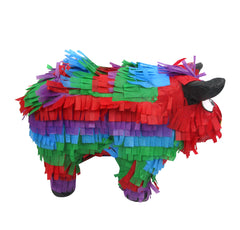 Multicolored Bull Pinata
