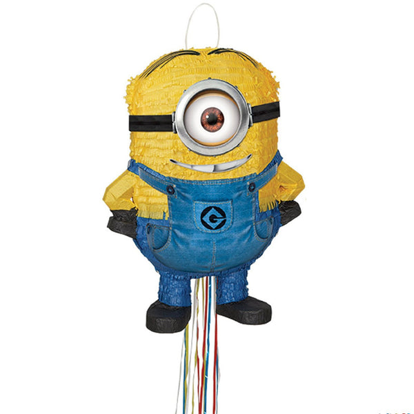 Despicable Me Stuart Minion Pull String Pinata