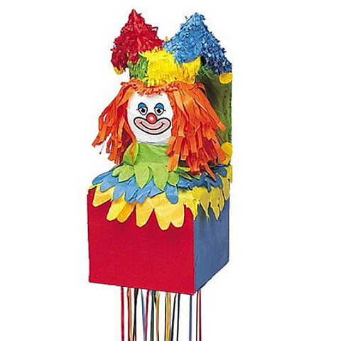 Jack in the Box Pull string Pinata
