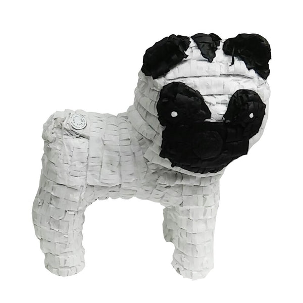 Pug Dog Pinata, Party Game, Decoration and Photo Prop, 20""