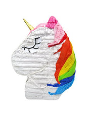 Sleepy Rainbow Unicorn Pinata