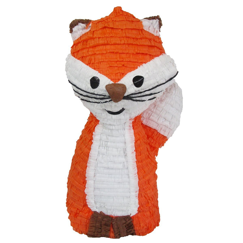woodland fox pinata for your lovely kids birthday party pinatas com