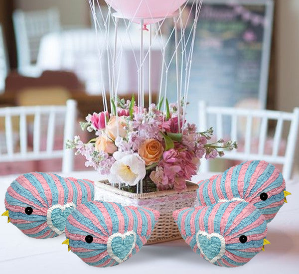 Baby Shower Mini Pinata Party Favor 4/Pack