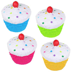 Birthday Mini pinata Party Favor 4/Pack
