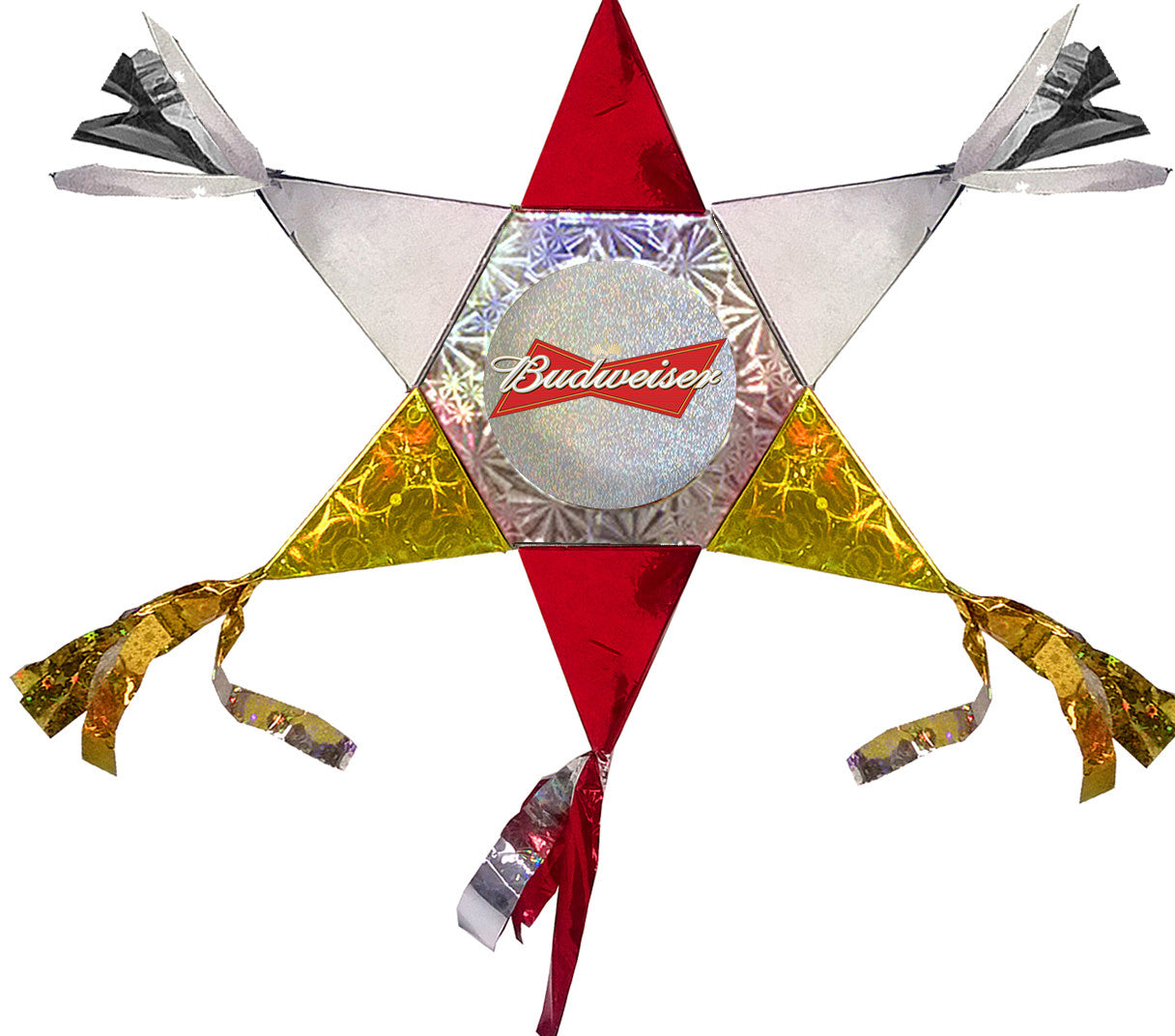 Budweiser Mini Star Promotional Pinata