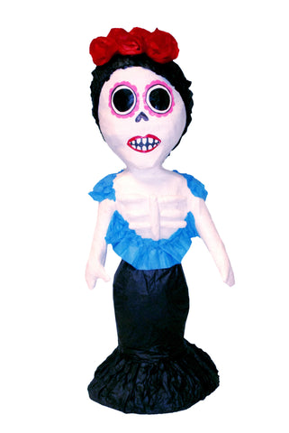 Medium Day of the Dead Catrina Skeleton Pinata